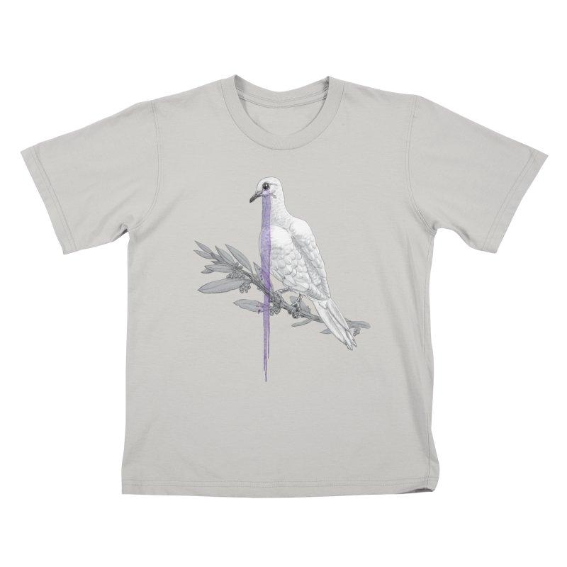 When Dove's Cry Kids T-shirt by Luke Wisner