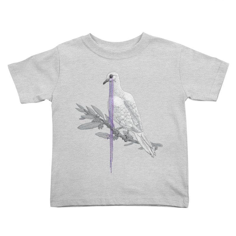 When Dove's Cry Kids Toddler T-Shirt by Luke Wisner