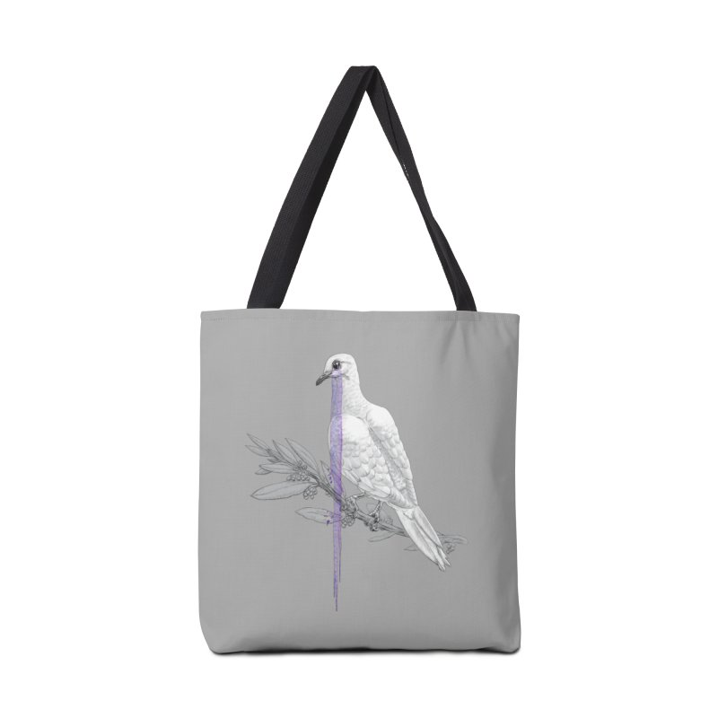 When Dove's Cry Accessories Bag by Luke Wisner