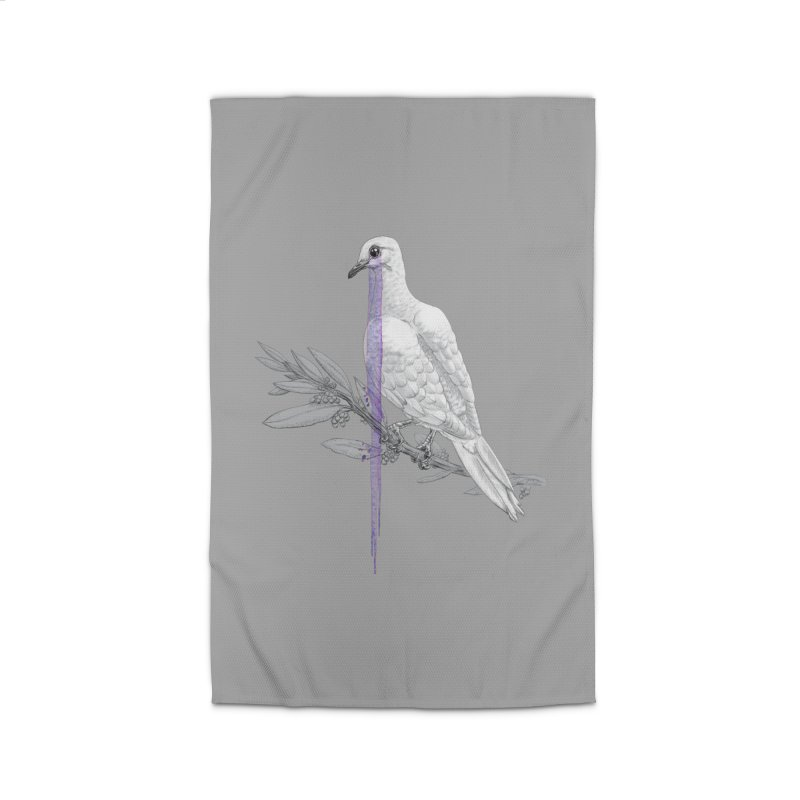 When Dove's Cry Home Rug by Luke Wisner