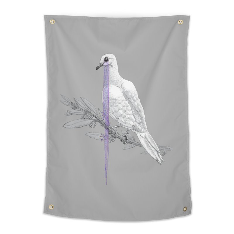 When Dove's Cry Home Tapestry by Luke Wisner