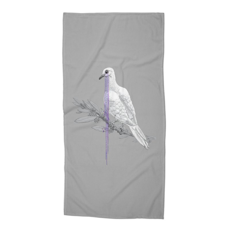 When Dove's Cry Accessories Beach Towel by Luke Wisner