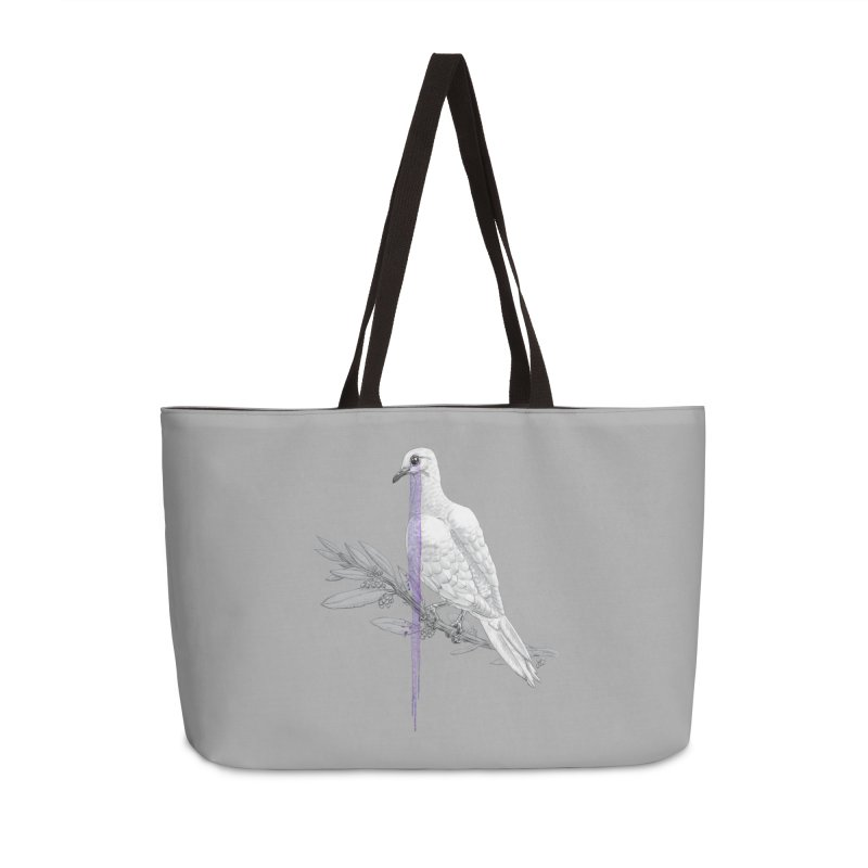 When Dove's Cry Accessories Weekender Bag Bag by Luke Wisner