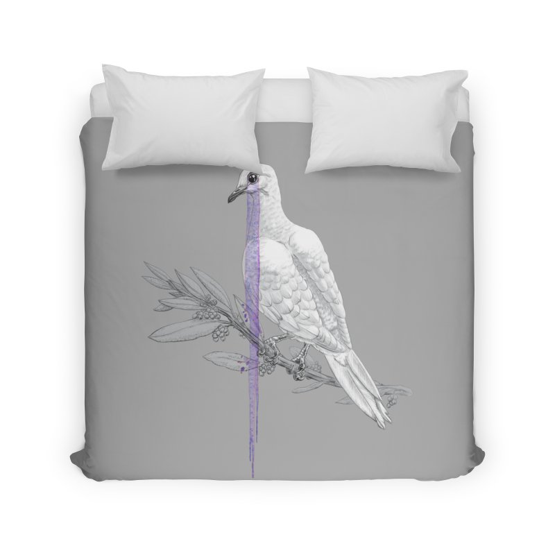 When Dove's Cry Home Duvet by Luke Wisner