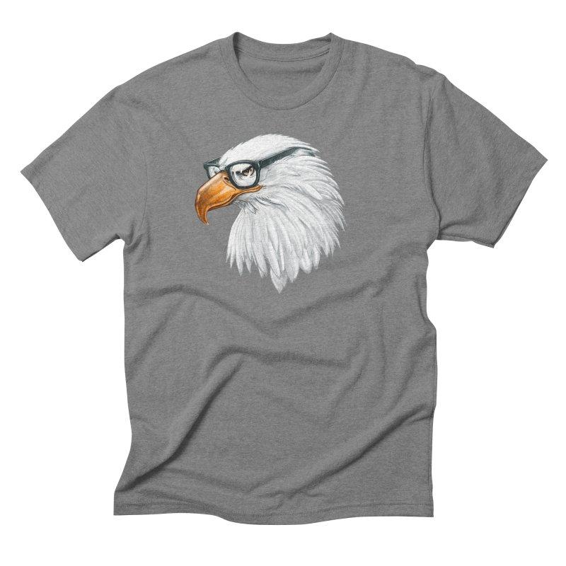 Eagle Eye Men's T-Shirt by Luke Wisner
