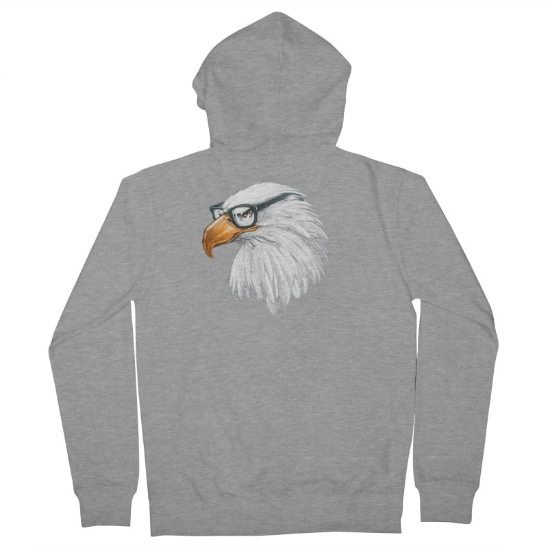 Eagle Eye Women's French Terry Zip-Up Hoody by Luke Wisner