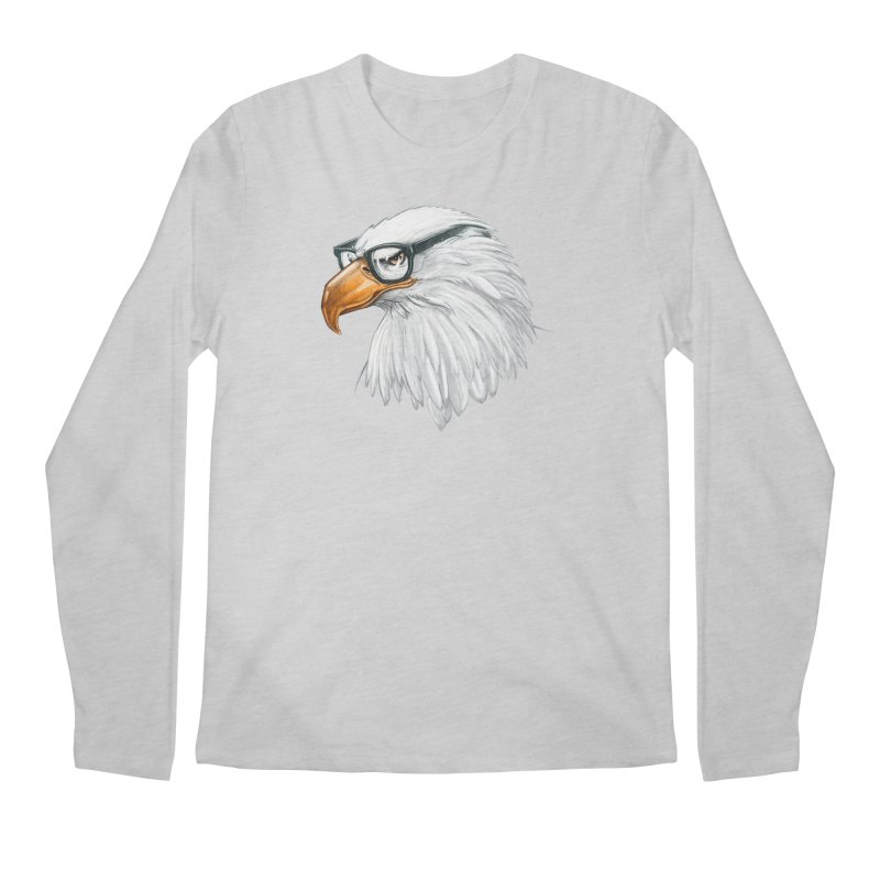 Eagle Eye Men's Longsleeve T-Shirt by Luke Wisner