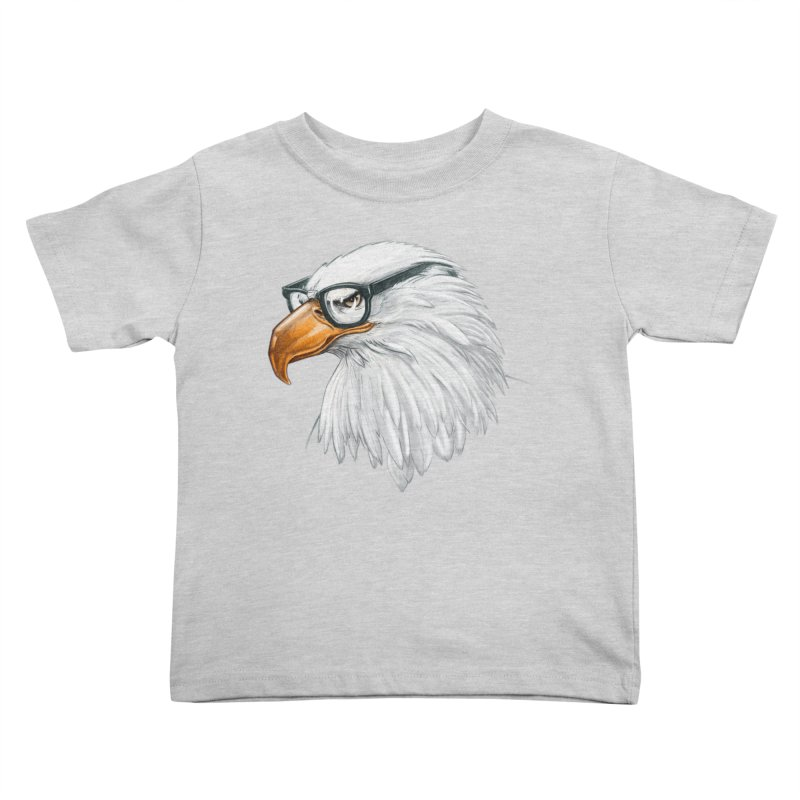 Eagle Eye Kids Toddler T-Shirt by Luke Wisner