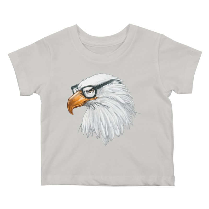 Eagle Eye Kids Baby T-Shirt by Luke Wisner