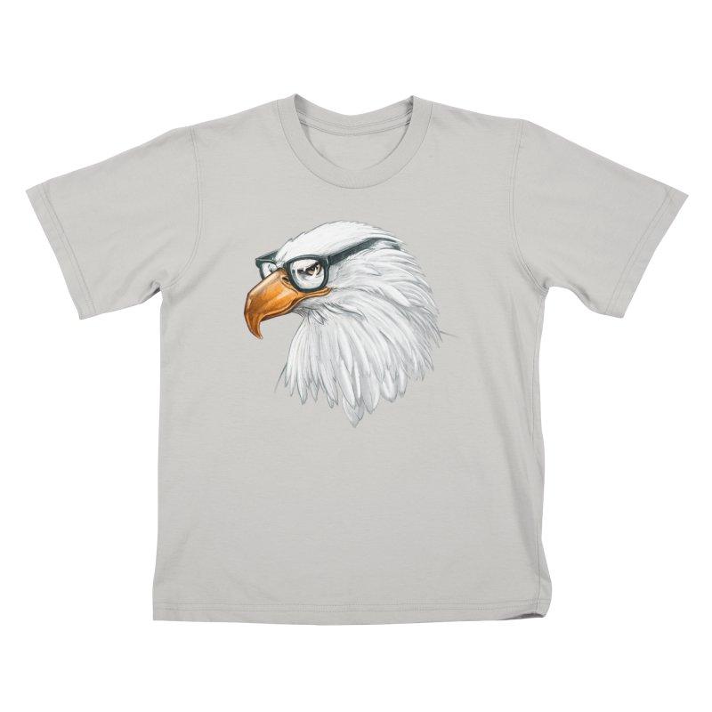 Eagle Eye Kids T-Shirt by Luke Wisner