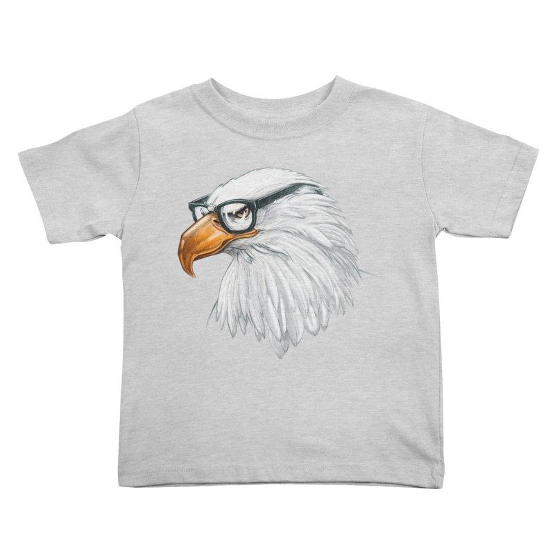 Eagle Eye Kids Toddler T-Shirt by Luke Wisner