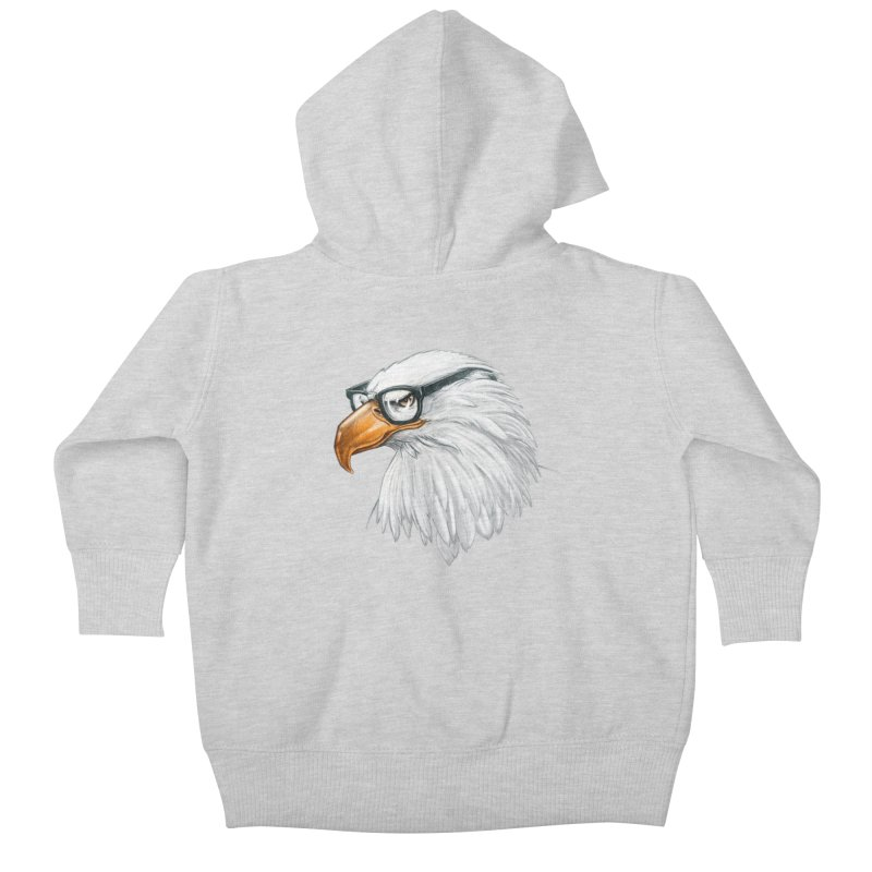 Eagle Eye Kids Baby Zip-Up Hoody by Luke Wisner