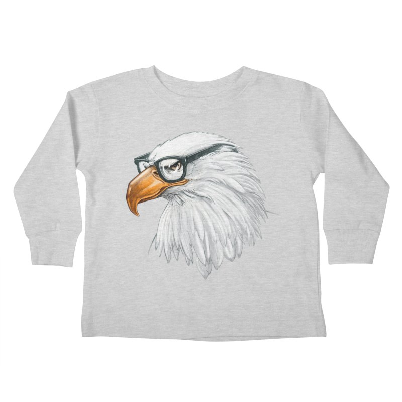 Eagle Eye Kids Toddler Longsleeve T-Shirt by Luke Wisner
