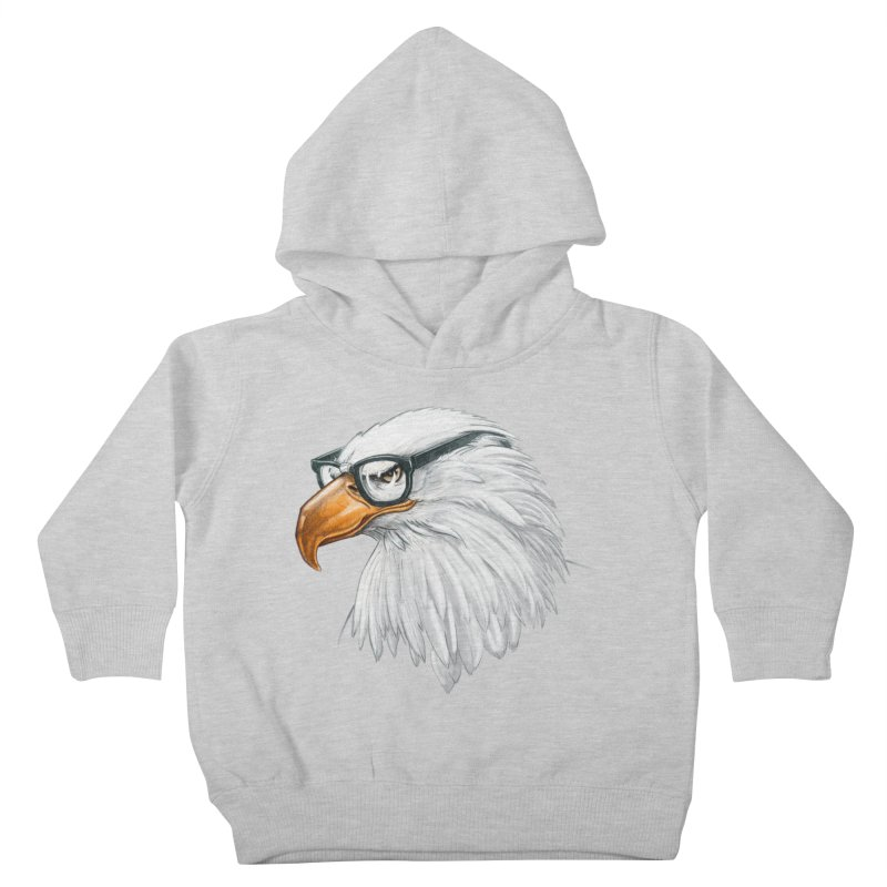 Eagle Eye Kids Toddler Pullover Hoody by Luke Wisner