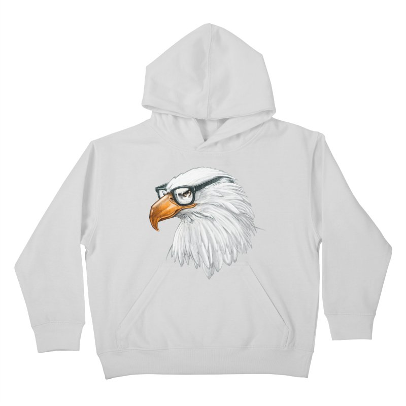 Eagle Eye Kids Pullover Hoody by Luke Wisner