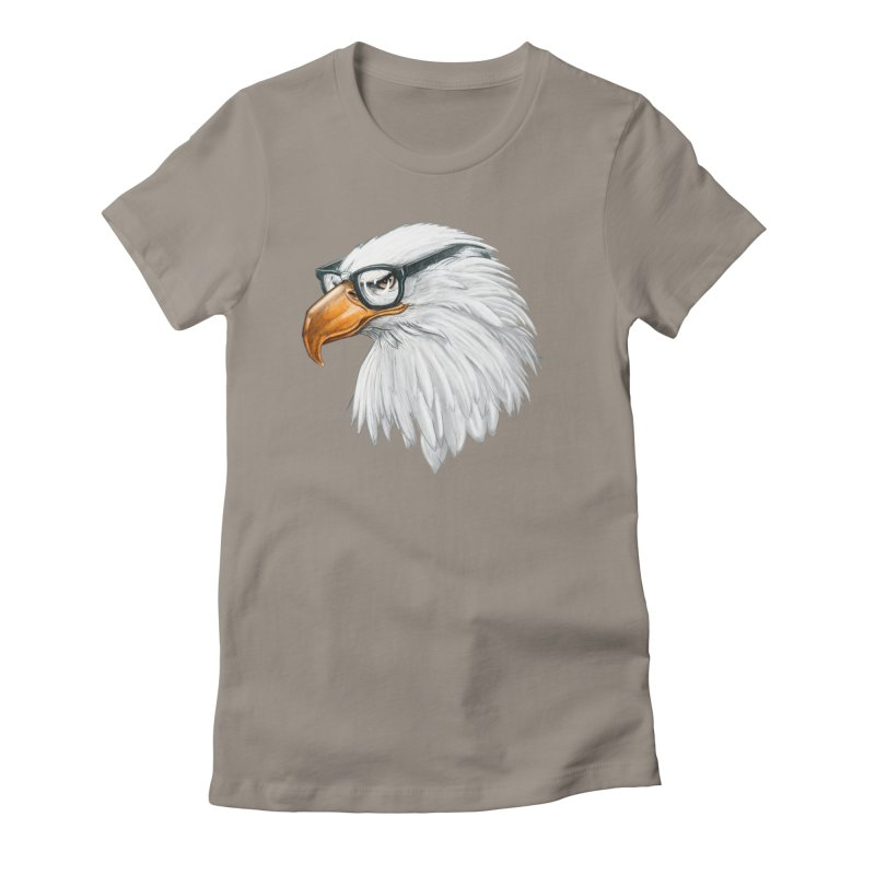 Eagle Eye Women's T-Shirt by Luke Wisner