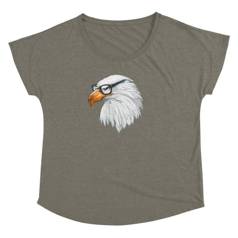 Eagle Eye Women's Dolman by Luke Wisner