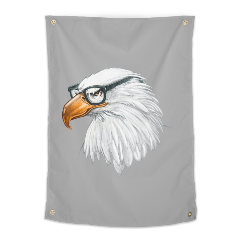Eagle Eye Home Tapestry by Luke Wisner