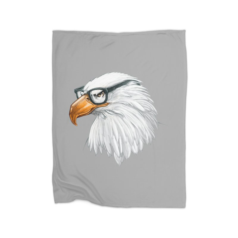 Eagle Eye Home Fleece Blanket Blanket by Luke Wisner