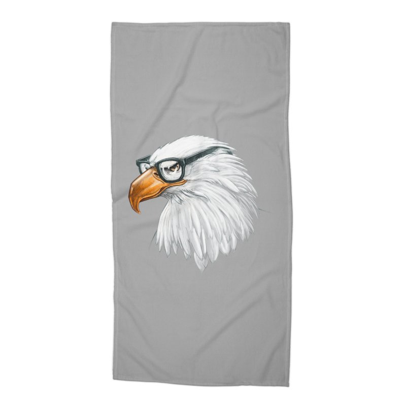 Eagle Eye Accessories Beach Towel by Luke Wisner