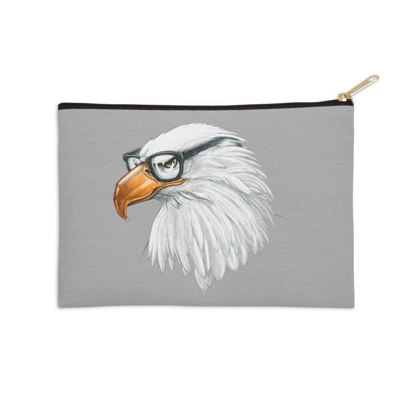 Eagle Eye Accessories Zip Pouch by Luke Wisner