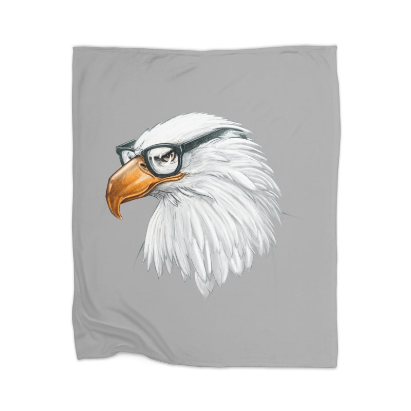 Eagle Eye Home Blanket by Luke Wisner