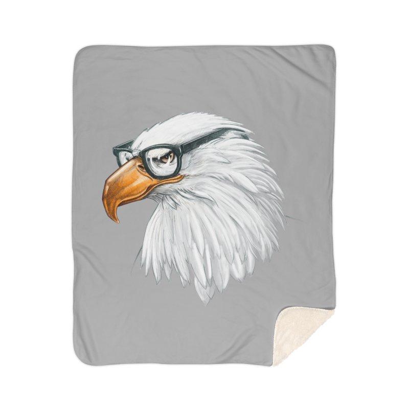 Eagle Eye Home Sherpa Blanket Blanket by Luke Wisner