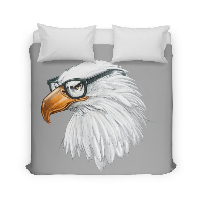 Eagle Eye Home Duvet by Luke Wisner