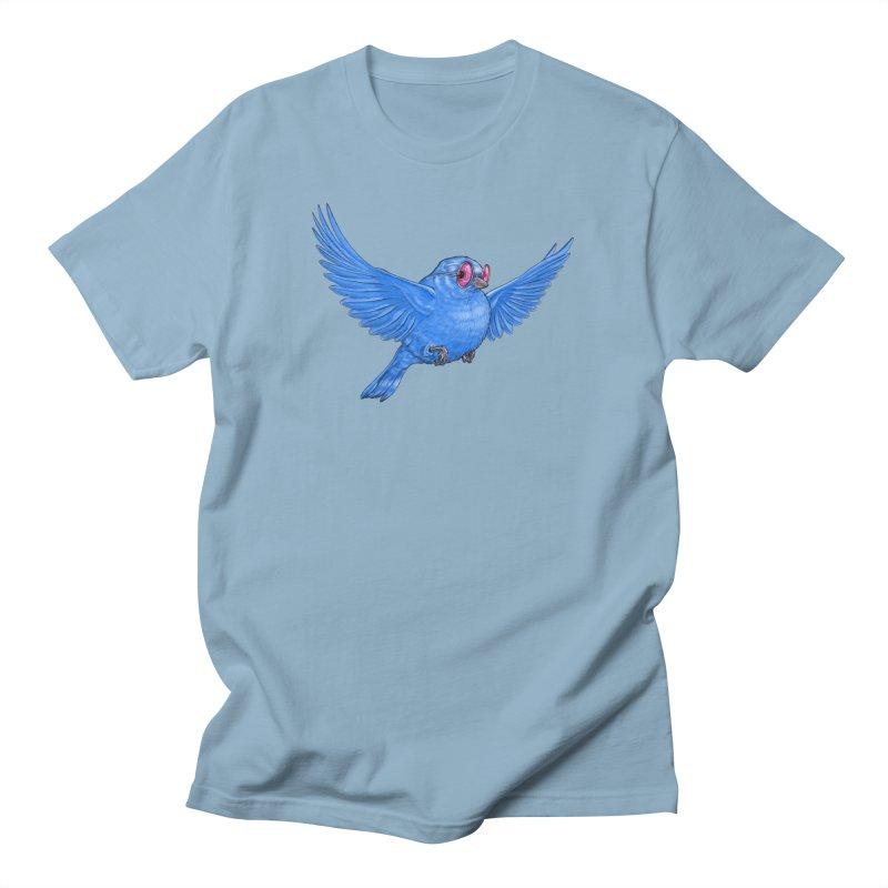Optimism Men's T-Shirt by Luke Wisner