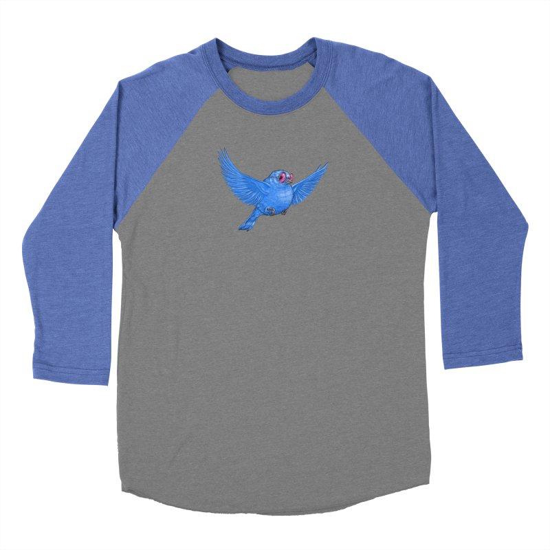 Optimism Men's Baseball Triblend Longsleeve T-Shirt by Luke Wisner