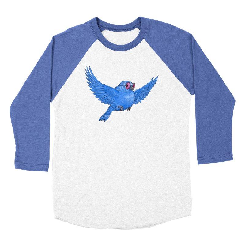 Optimism Women's Baseball Triblend T-Shirt by Luke Wisner