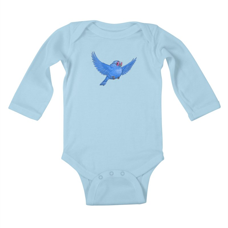 Optimism Kids Baby Longsleeve Bodysuit by Luke Wisner