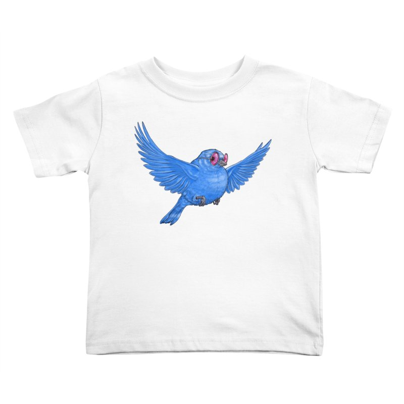 Optimism Kids Toddler T-Shirt by Luke Wisner