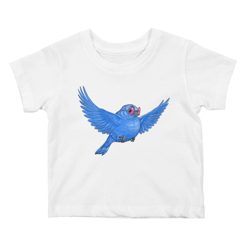 Optimism Kids Baby T-Shirt by Luke Wisner