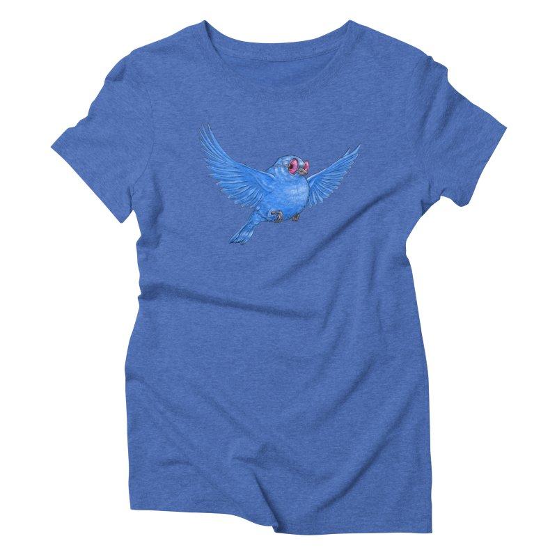 Optimism Women's Triblend T-Shirt by Luke Wisner