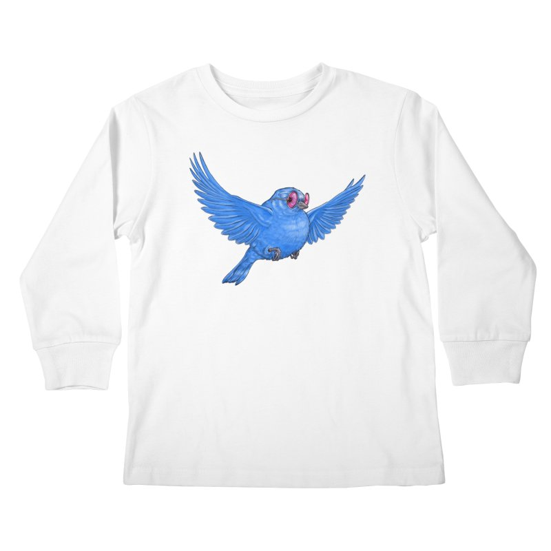 Optimism Kids Longsleeve T-Shirt by Luke Wisner