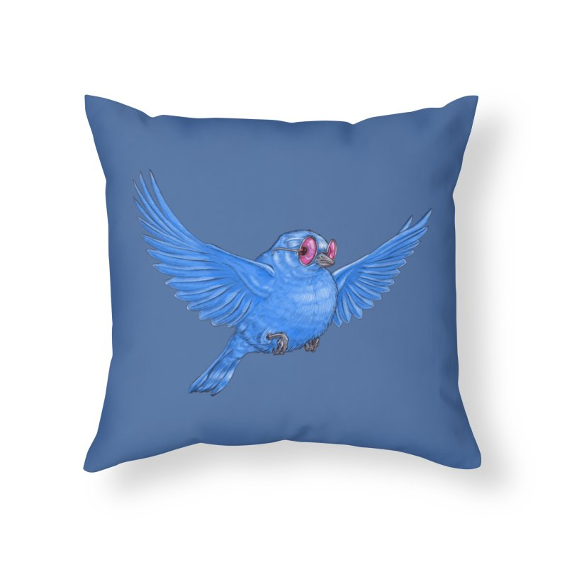 Optimism Home Throw Pillow by Luke Wisner