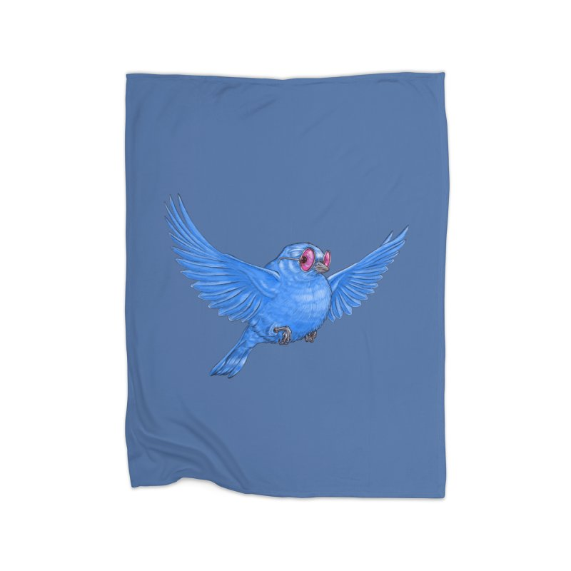 Optimism Home Fleece Blanket Blanket by Luke Wisner