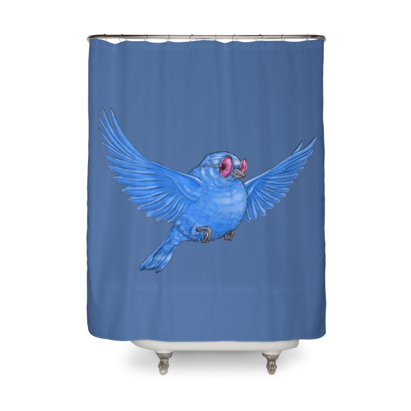 Optimism Home Shower Curtain by Luke Wisner