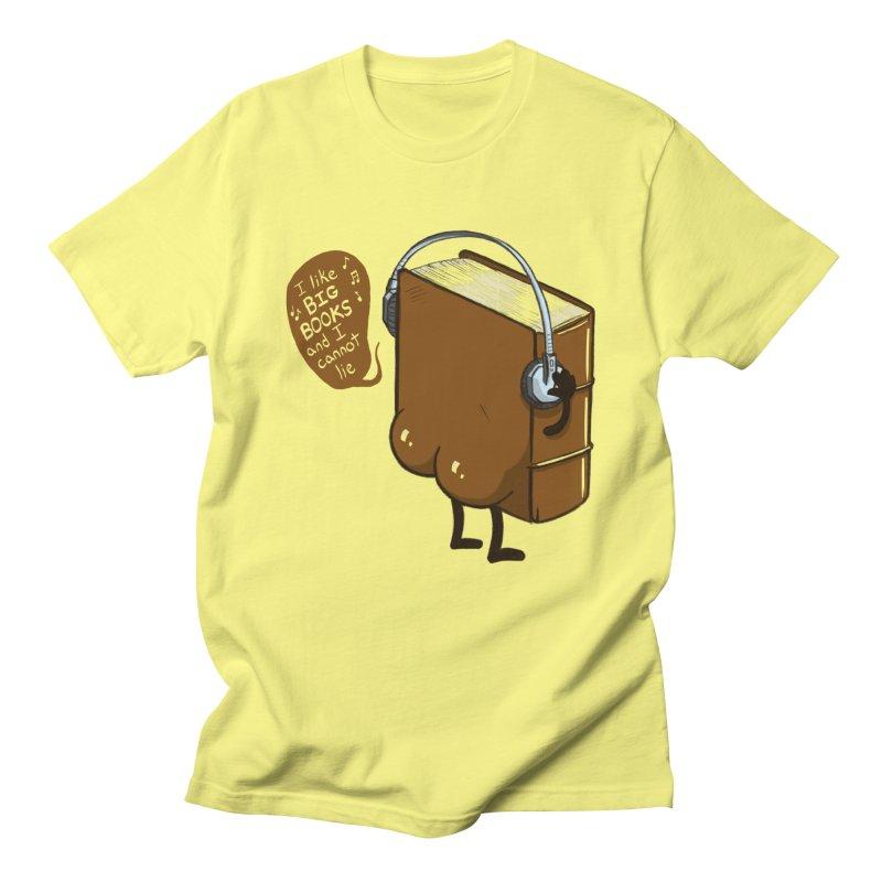 I like BIG BOOKS Men's T-Shirt by Luke Wisner