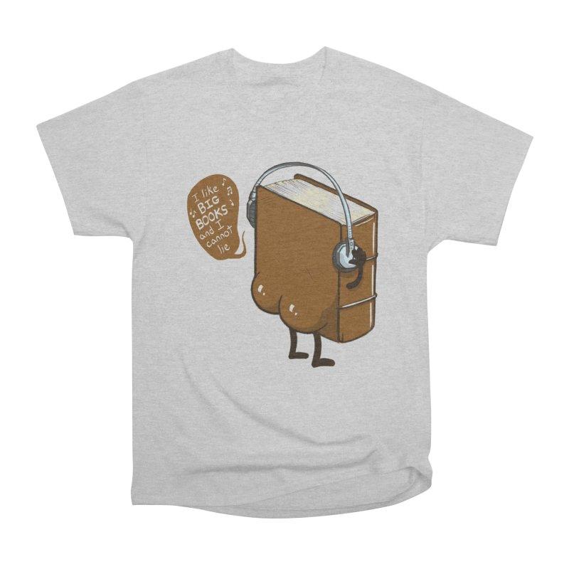 I like BIG BOOKS Women's Heavyweight Unisex T-Shirt by Luke Wisner