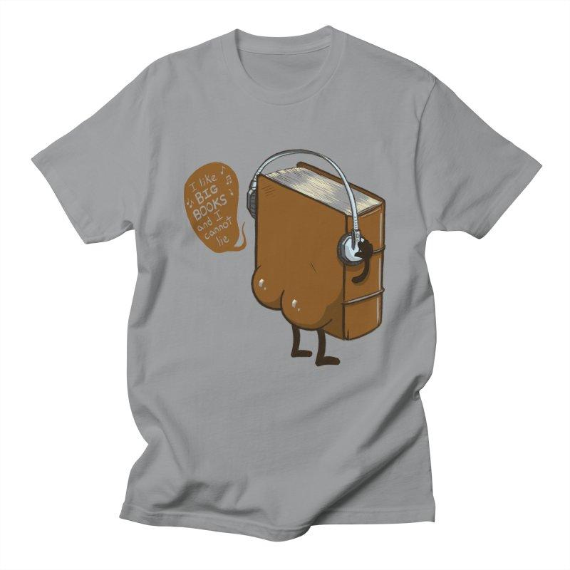 I like BIG BOOKS Women's Regular Unisex T-Shirt by Luke Wisner