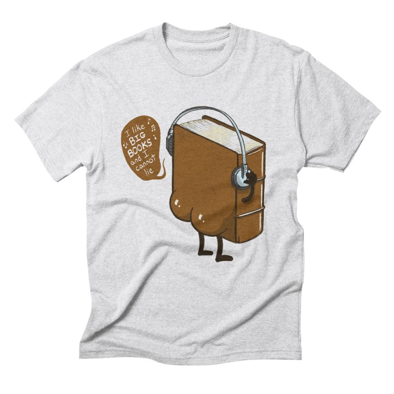 I like BIG BOOKS Men's Triblend T-Shirt by Luke Wisner