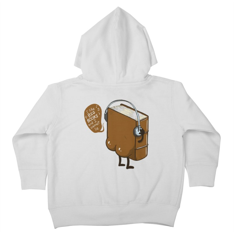 I like BIG BOOKS Kids Toddler Zip-Up Hoody by Luke Wisner