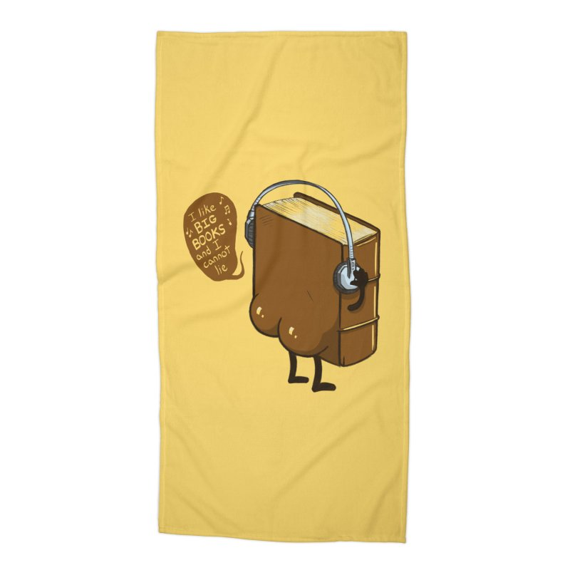I like BIG BOOKS Accessories Beach Towel by Luke Wisner