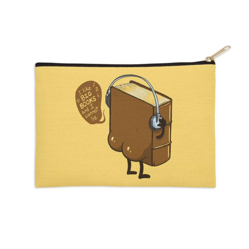 I like BIG BOOKS Accessories Zip Pouch by Luke Wisner