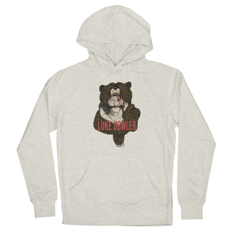 The Roosevelt (Men's Hoodie) Men's Pullover Hoody by Luke Dowler Merch