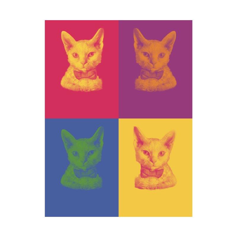 Pop Art Cat Accessories Face Mask by Luke the Lightbringer Artist Shop