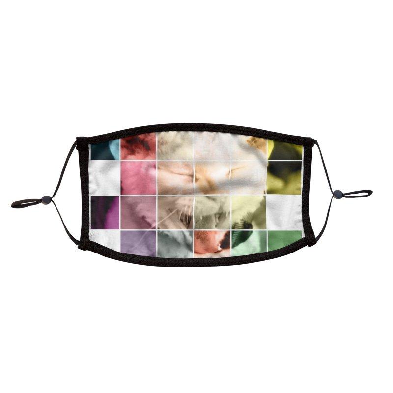 Mosaic Accessories Face Mask by Luke the Lightbringer Artist Shop