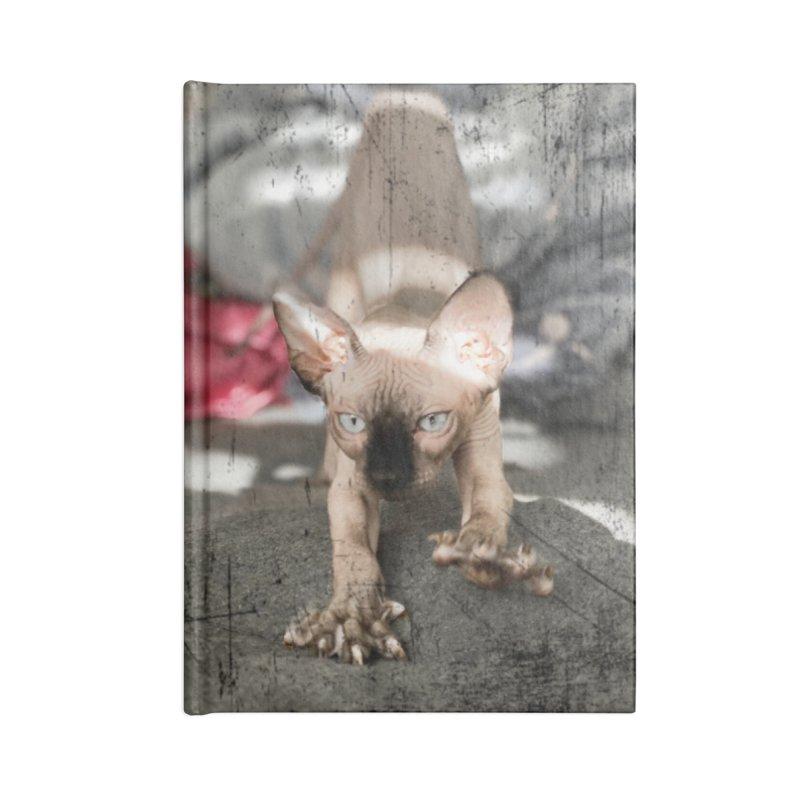 Cat Scratch Fever Accessories Notebook by Luke the Lightbringer Artist Shop